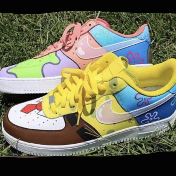 Nike Shoes | Spongebob And Patrick Air